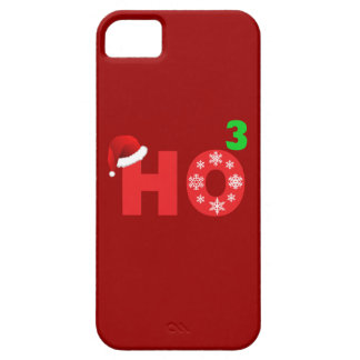 santa laughs at christmas barely there iPhone 5 case