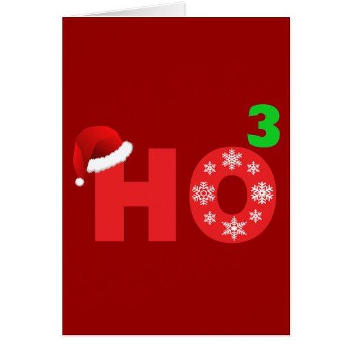 santa laughs at christmas greeting cards