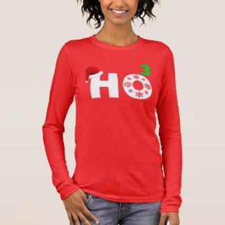Santa laughs at Christmas Long Sleeve T-Shirt