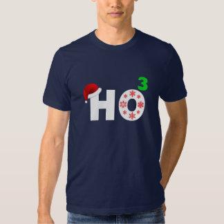 santa laughs at christmas t shirt