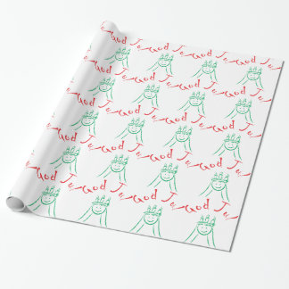 Santa Lucia and God Jul Wrapping Paper