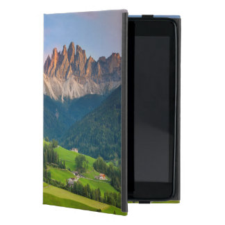 Santa Maddelena and The Dolomites in Val di Funes Cover For iPad Mini