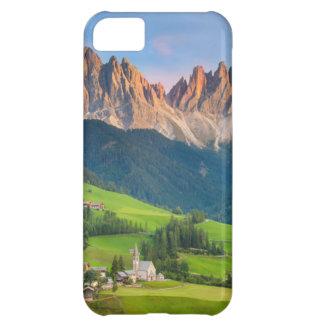 Santa Maddelena and The Dolomites in Val di Funes iPhone 5C Case