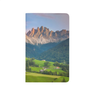 Santa Maddelena and The Dolomites in Val di Funes Journals