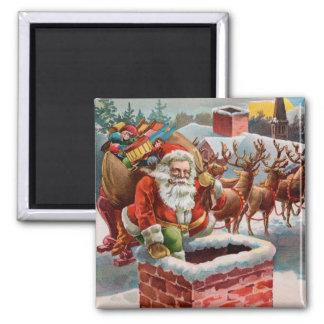 Santa Magnet for the Holiday Season