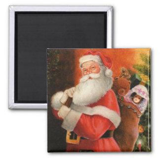Santa Magnet - Stocking Stuffer