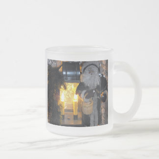 Santa Making a Delivery Coffee Mugs