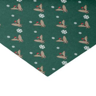 Santa Mallard Duck Christmas Tissue Paper