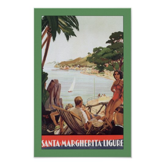 Santa Margherita Ligure Poster