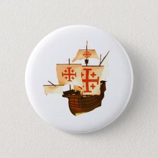 Santa Maria 6 Cm Round Badge