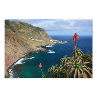Santa Maria Azores coastal Photographic Print
