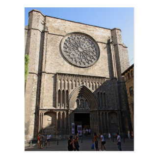Santa Maria del Pi Post Card