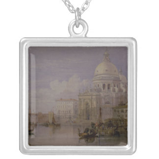 Santa Maria della Salute Silver Plated Necklace