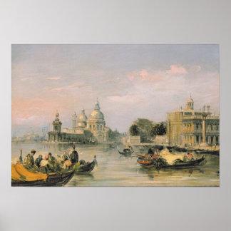 Santa Maria della Salute, Venice, 19th century Poster