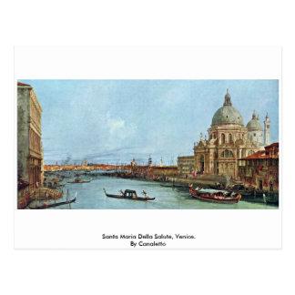 Santa Maria Della Salute, Venice. By Canaletto Post Cards