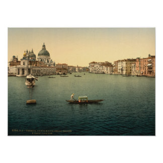 Santa Maria della Salute, Venice, Italy Poster