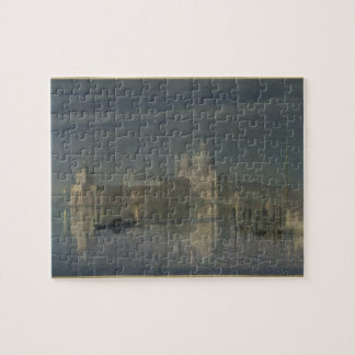 Santa Maria Della Salute, Venice, Moonlight, 1863 Jigsaw Puzzle