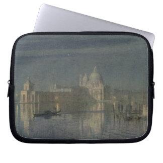 Santa Maria Della Salute, Venice, Moonlight, 1863 Laptop Computer Sleeve