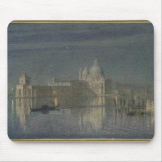 Santa Maria Della Salute, Venice, Moonlight, 1863 Mouse Mat