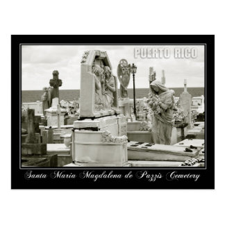 Santa Maria Magdalena de Pazzis Cemetery Postcard