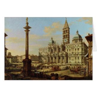 Santa Maria Maggiore, Rome, 1739 Greeting Card