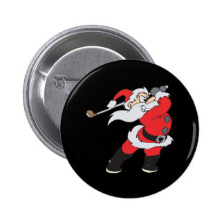 Santa Means Business 6 Cm Round Badge