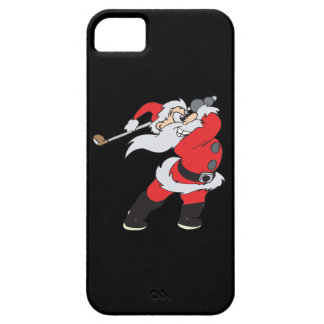 Santa Means Business Barely There iPhone 5 Case