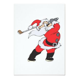 Santa Means Business Custom Invite