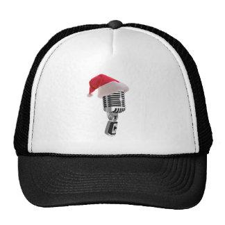 santa microphone cap