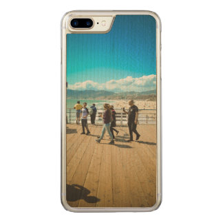 Santa Monica Beach Carved iPhone 8 Plus/7 Plus Case