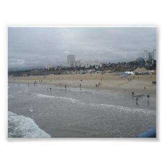Santa Monica Beach Photo Print