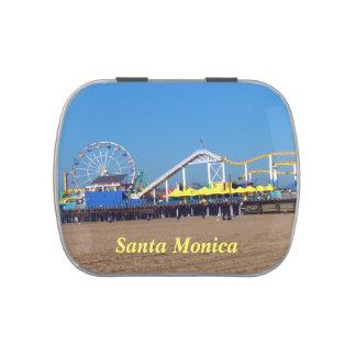 Santa Monica Beach Pier Jelly Belly Candy Tins