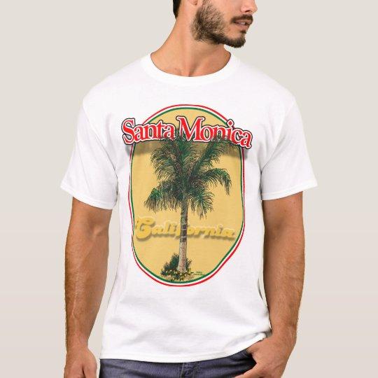 Santa Monica CA palm shirt