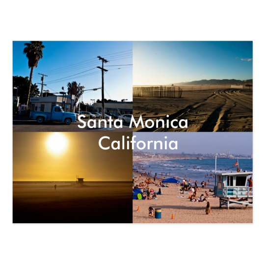 Santa Monica - California Postcard
