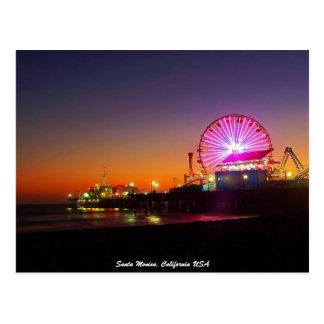 Santa Monica, California USA Postcard