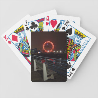 Santa Monica Pier Bicycle Playing Cards