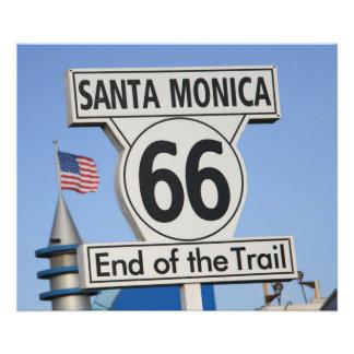 Santa Monica Pier - End of the Trail Photo
