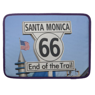 Santa Monica Pier - End of the Trail Sleeve For MacBook Pro