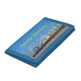 Santa Monica Pier Ferris Wheel Trifold Wallet