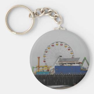 Santa Monica Pier Keychain