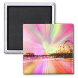 Santa Monica Pier Pink Explosion