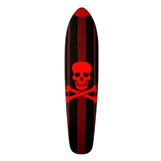 Santa Monica Pirate Cruiser Custom Pro Long Board 19.7 Cm Skateboard Deck