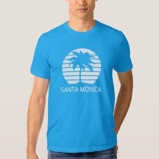 Santa Monica Retro T-shirts