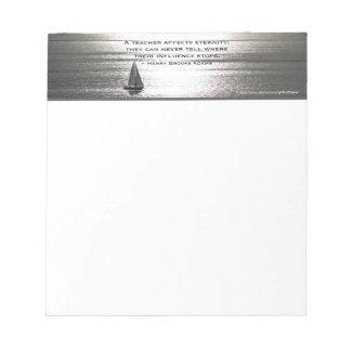 Santa Monica Sailing, for teachers - SMALL Notepad