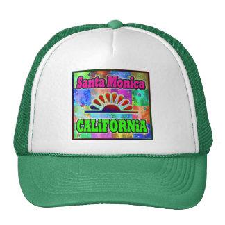 Santa Monica Sun & Palms Hat