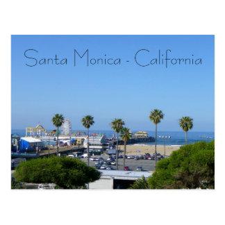 Santa Monica View Postcard! Postcard