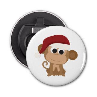 Santa Monkey Bottle Opener