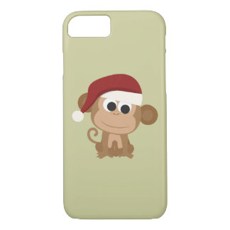 Santa Monkey iPhone 7 Case