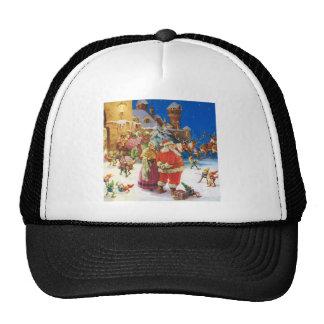 Santa & Mrs Claus at the North Pole, Christmas Eve Cap