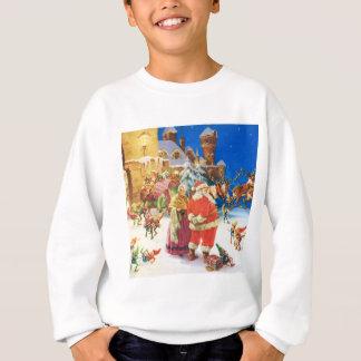 Santa & Mrs. Claus, Christmas Eve, The North Pole Sweatshirt